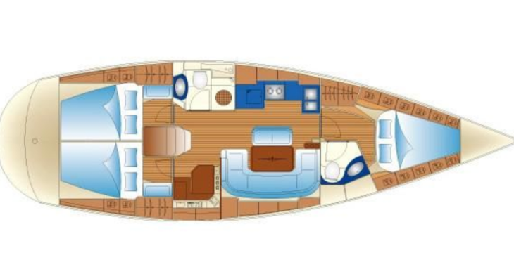 Rent a sailboat in Mykonos - Bavaria 43 Cruiser