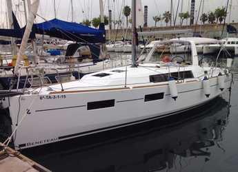 Rent a sailboat in Port Olimpic de Barcelona - Oceanis 35 Cruiser