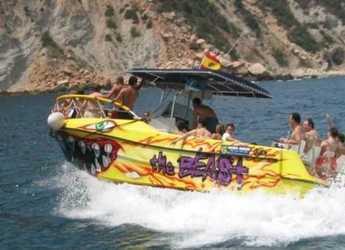 Rent a motorboat in Marina el Portet de Denia - Barco a motor 25 personas