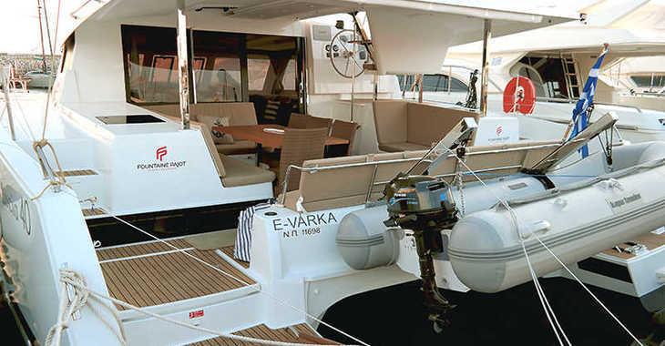 Rent a catamaran in Paroikia - Fountaine Pajot