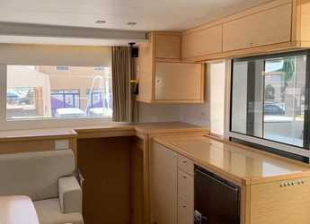 Rent a catamaran in Mykonos - Lagoon 450