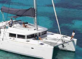 Rent a catamaran in Mykonos - Lagoon 450