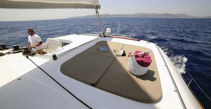 Rent a catamaran in Mykonos - Lagoon 450 S