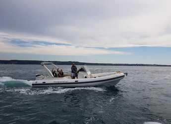 Rent a motorboat in Marina Zadar - TEMPEST 800 + Suzuki 350