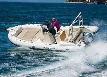 Chartern Sie motorboot in Marina Sukosan (D-Marin Dalmacija) - TEMPEST 700 + Honda 250