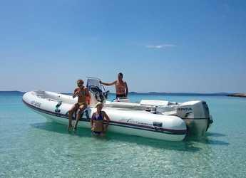Chartern Sie motorboot in Marina Sukosan (D-Marin Dalmacija) - SPORT 22GT + Honda 150