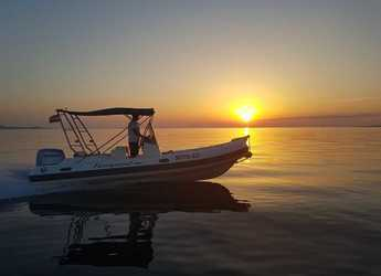 Rent a motorboat in Marina Sukosan (D-Marin Dalmacija) - TEMPEST 600 + Honda 135