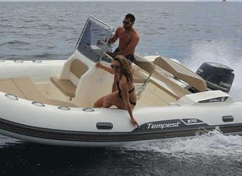 Rent a motorboat in Marina Zadar - TEMPEST 570 + Honda 135