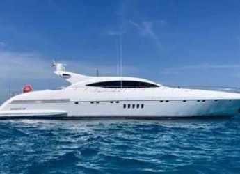 Rent a yacht in Marina Botafoch - Mangusta 108