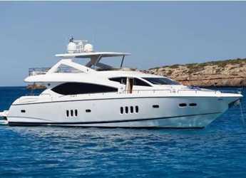 Louer yacht à Marina Botafoch - Sunseeker Manhattan 86