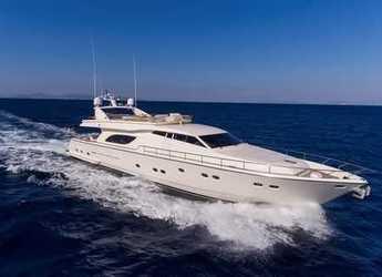 Chartern Sie yacht in Port d´Alcudia/Port de Alcudiamar Marina - Ferretti 80