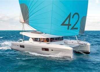 Rent a catamaran in Lefkas Nidri - Lagoon 42 (4Cab)