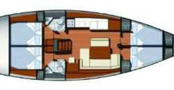 Rent a sailboat Sun Odyssey 44i in Marina Gouvia, Corfu