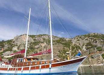 Rent a schooner in Netsel Marina - Gulet 72