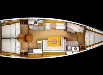 Rent a sailboat in San Gennaro - Sun Odyssey 439