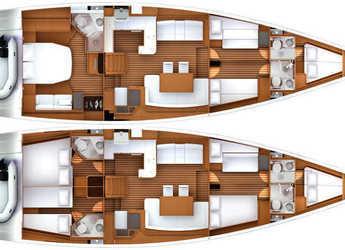 Alquilar velero en San Gennaro - Jeanneau 57