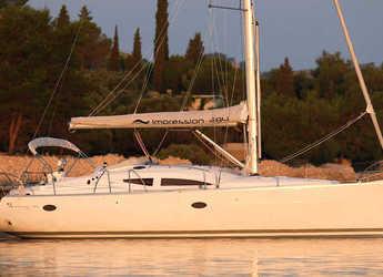 Rent a sailboat in Port Lavrion - Elan 384 Impression