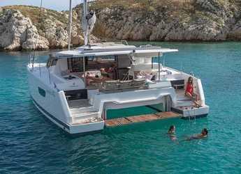 Chartern Sie katamaran in Marina Kornati - Fountaine Pajot Astrea 42