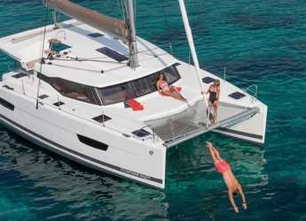 Rent a catamaran in Marina Kornati - Fountaine Pajot Lucia 40