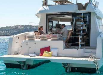 Chartern Sie motorkatamaran in Marina Mandalina - Fountaine Pajot MY 37 - 3 cab.