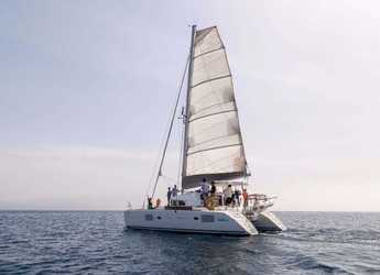 Rent a catamaran in Port Lavrion - Lagoon 380 S2 - 4 + 2 cab.