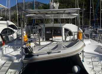 Rent a catamaran in Port Gocëk Marina - Lagoon 380 S2 - 4 cab.