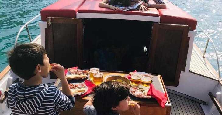 Chartern Sie motorboot in Santa Ponsa - Llaut artesanal madera