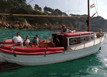 Rent a schooner in Santa Ponsa - Llaut artesanal madera