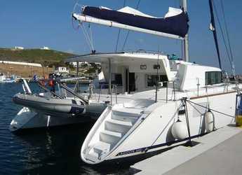 Rent a catamaran in Port Lavrion - Lagoon 440 - 4 + 2 cab.