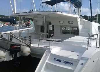 Chartern Sie katamaran in Rodney Bay Marina - Lagoon 440 - 4 + 2 cab.