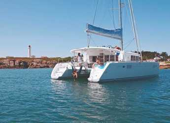 Rent a catamaran in Port Gocëk Marina - Lagoon 450 F - 4 + 1 cab.