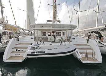 Rent a catamaran in SCT Marina Trogir - Lagoon 450 F - 4 + 2 cab.