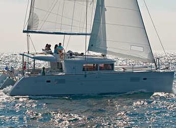 Rent a catamaran in Port Lavrion - Lagoon 450 F - 4 + 2 cab.