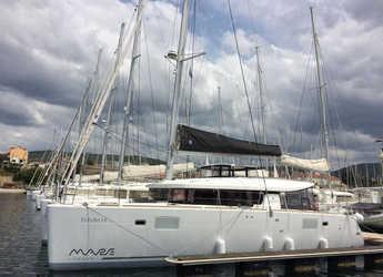 Rent a catamaran in Marina Mandalina - Lagoon 450 S OW Deluxe 3 + 2 cab.