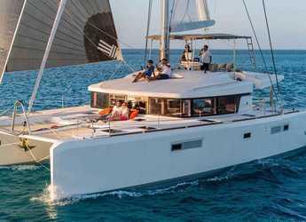 Louer catamaran à Port Lavrion - Lagoon 52 - 5 cab.