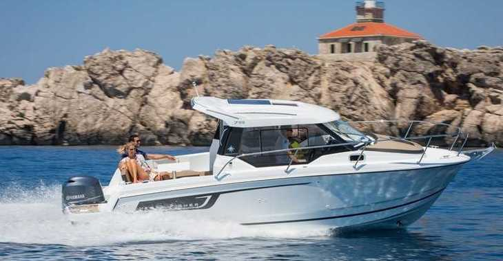 Rent a motorboat in Split (ACI Marina) - Jeanneau Merry Fisher 795