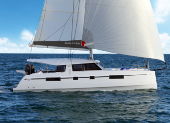 Rent a catamaran in Port Lavrion - Nautitech 46 Open
