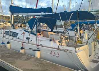 Rent a sailboat in Rodney Bay Marina - Oceanis 43 - 3 cab.