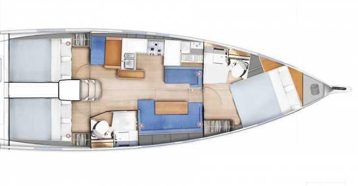 Chartern Sie segelboot in ACI Marina - Sun Odyssey 410