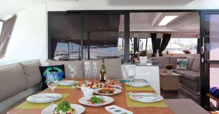 Rent a catamaran in Mykonos - SABA 50