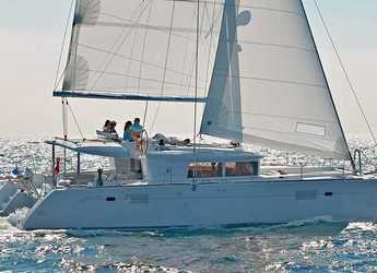 Rent a catamaran in Ece Marina - Lagoon 450 - 4 cab.
