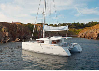 Chartern Sie katamaran in Porto Capo d'Orlando Marina - Lagoon 450