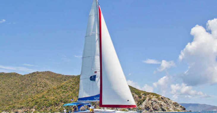 Rent a sailboat in Wickhams Cay II Marina - Sunsail 47/3 (Premium)