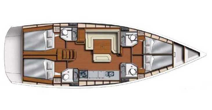 Rent a sailboat in Agana Marina - Sunsail 47 (Premium Plus)