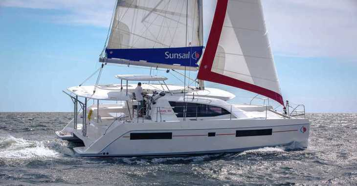 Rent a catamaran in Agana Marina - Sunsail 404 (Premium Plus)