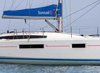 Rent a sailboat in Lefkas Nidri - Sunsail 410 (Premium)