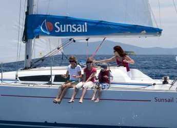 Rent a catamaran in Wickhams Cay II Marina - Sunsail 46 Cat (Premium Plus)
