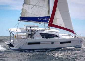 Chartern Sie katamaran in Marina Gouvia - Sunsail 404 (Premium)
