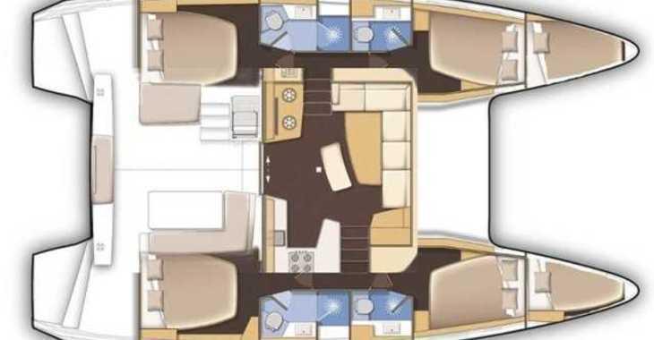 Rent a catamaran in Paros - Lagoon 42-
