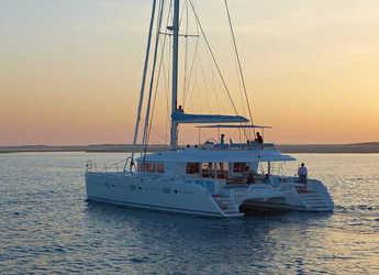 Chartern Sie katamaran in Santorini - Lagoon 620
